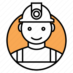 constractor, engineer, mechanical engineer icon