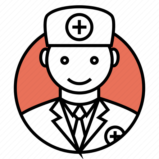 avatar, doctor, medical, people, professional, surgeon, uniform icon icon