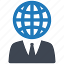 business, finance, global, internet, network, online, shopping icon