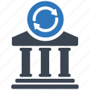 bank, business, cash, finance, money, office, transaction icon