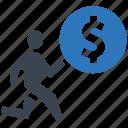 business, cash, finance, mission, money, seo icon