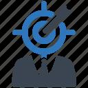 business, finance, marketing, money, seo, target icon