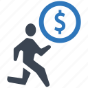 business, cash, currency, debt, finance, money, seo icon