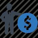 budget, business, dollar, finance, money icon