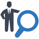 business, find, job, search, seo icon