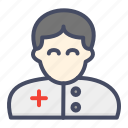 avatar, clinicial, doctor, md, people, physician icon