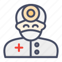 avatar, clinician, doctor, md, people, physician icon