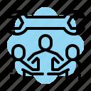 control, group, maintance, professional, seo, setting, team icon