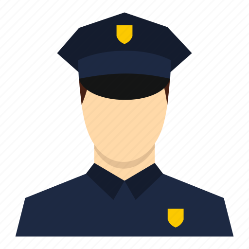 cop, law, male, man, officer, police, policeman icon