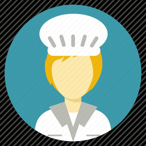 chef, cook, professions icon