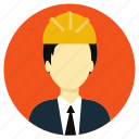 civil, construction, engineer, professions icon