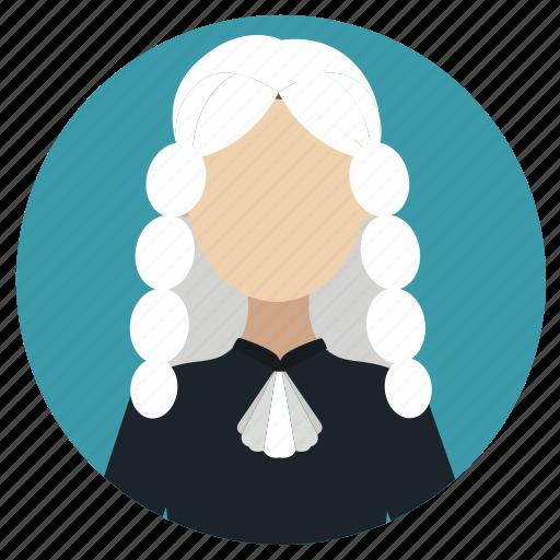 judge, jury, professions icon