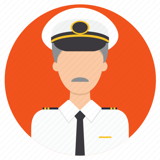 admiral, navy, professions icon