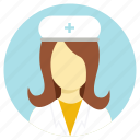 first aid, nurse, professions icon