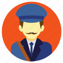 postman, professions icon
