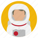 astronaut, professions, space icon