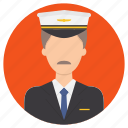 captain, pilot, professions icon