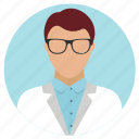 professions, research, researcher, scientist icon