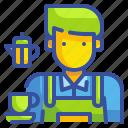 avatar, barista, coffee, cup, job, profression, tea icon