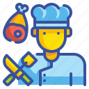 avatar, chef, cook, food, job, profression, user icon