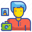 avatar, camera, job, photo, photographer, profression, user icon
