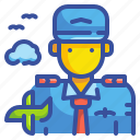 avatar, job, people, pilot, plane, profression, user icon