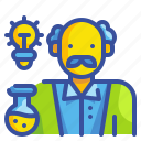 avatar, doctor, laboratory, profression, science, scientist, technician icon