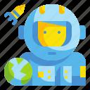 aquqlung, astronaut, avatar, galaxy, profression, space, useer icon