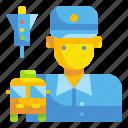 avatar, bus, driver, job, man, profression, user icon