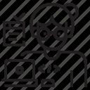avatar, computer, profression, program, programmer, software, user icon