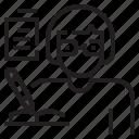 avatar, book, job, profression, student, writer, writing icon