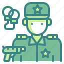 avatar, guard, man, police, policeman, profression, security icon