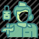assistant, avatar, plane, profression, stewardress, user, woman icon
