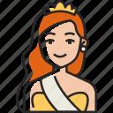 model, young, woman, beautiful, fashion, avatar, pageant