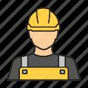 builder, carpenter, engineer, man, profession, repairman, worker