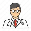 doc, doctor, man, physician, practitioner, profession, therapist
