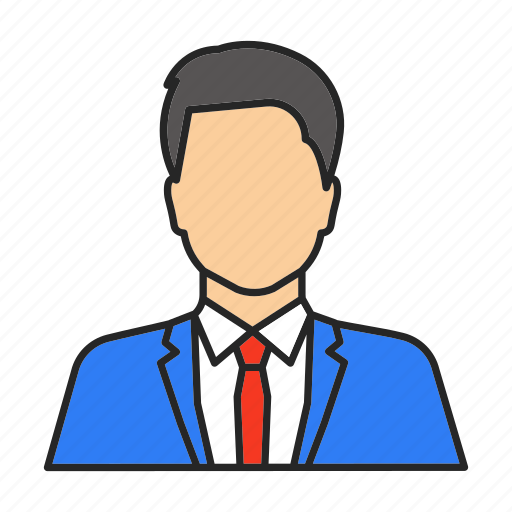 Assistant, businessman, croupier, dealer, man, manager, worker icon - Download on Iconfinder