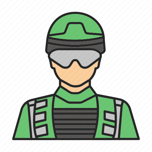 Army, man, military, military man, officer, policeman, soldier icon - Download on Iconfinder