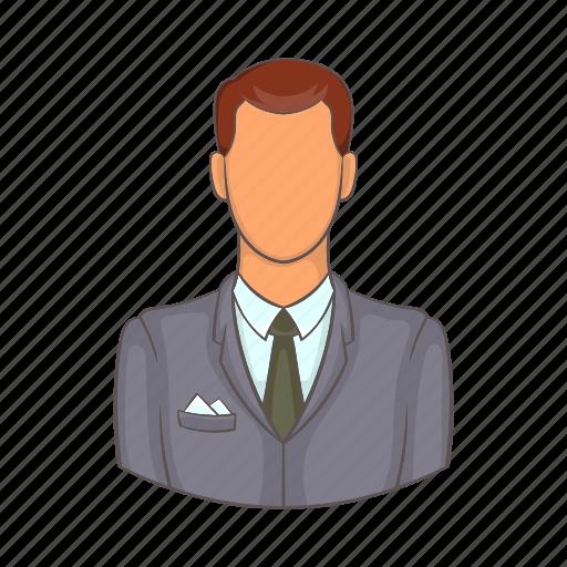 adult, business, businessman, cartoon, confident, professional icon