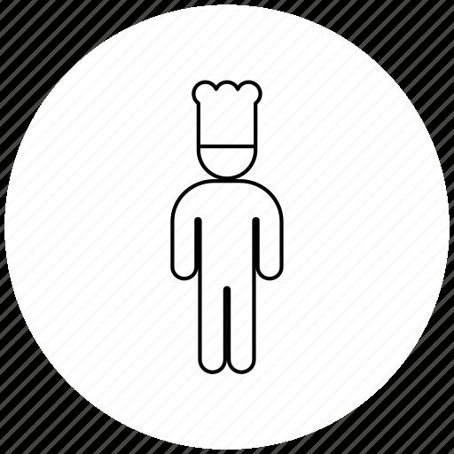 cook, person, professions icon