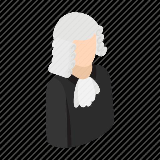 court, gavel, isometric, job, judge, law, lawyer icon