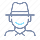 avatar, male, man, people, profile, user, western