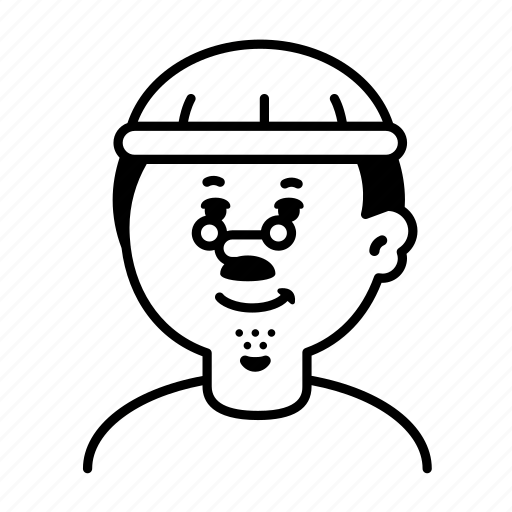 Avatar, emoji, face, male, person, profile, user icon - Download on Iconfinder