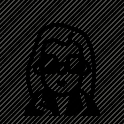 avatar, profile, rock, user icon