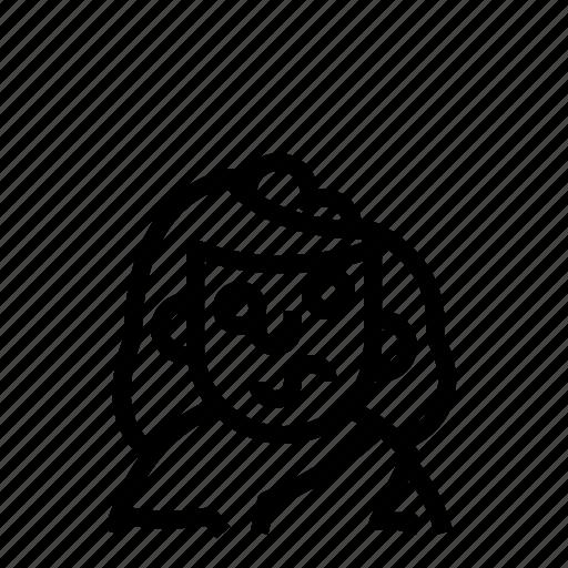 avatar, profile, user, zombie icon