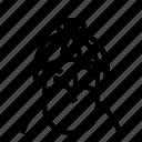 beard, profile, user, avatar