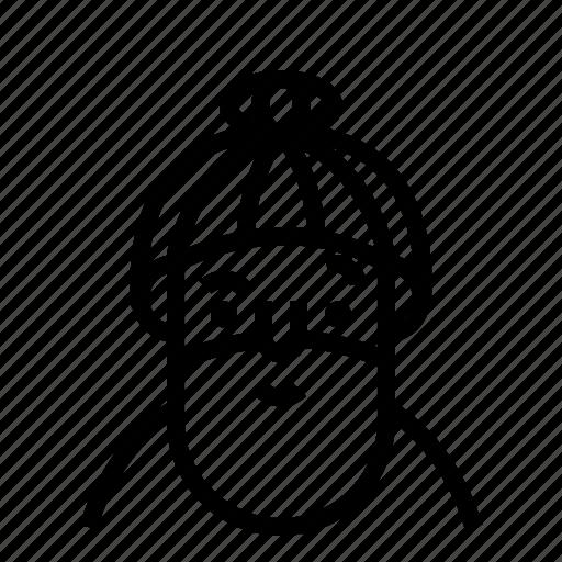 avatar, beard, profile, user icon