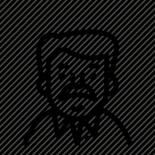 avatar, moustache, profile, user icon