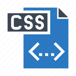 coding, css, document, file, page icon
