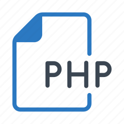 coding, document, files, php, programming icon